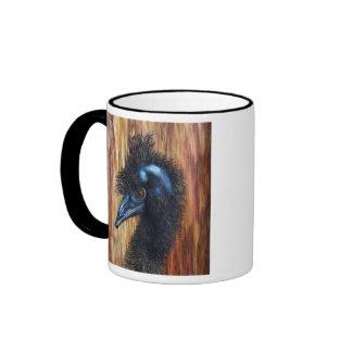 Distinguished Emu Coffee Mug