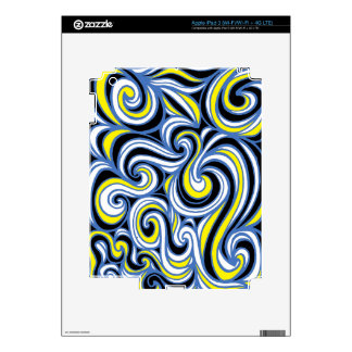Distinguished Forceful Energized Engaging Decal For iPad 3