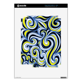 Distinguished Forceful Energized Engaging Decals For iPad 2