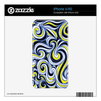 Distinguished Forceful Energized Engaging Skin For The iPhone 4