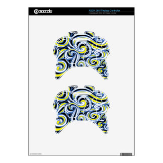 Distinguished Forceful Energized Engaging Xbox 360 Controller Decal