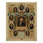 Distinguished Masons of the American Revolution Posters