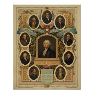 Distinguished Masons of the American Revolution Poster