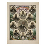 Distinguished Men of color Poster