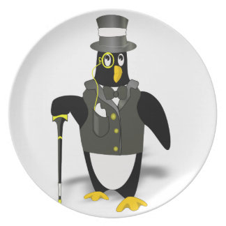 Distinguished Penguin Plate