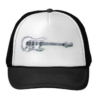 distorsión pesada del bosquejo de la guitarra gorros