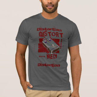 Distort Me! Distortion Pedal Burgundy 2 T-Shirt