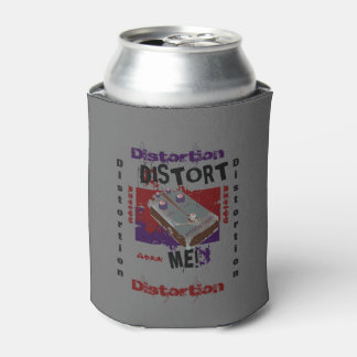 Distort Me! Distortion Pedal Burgundy/Grey Can Cooler