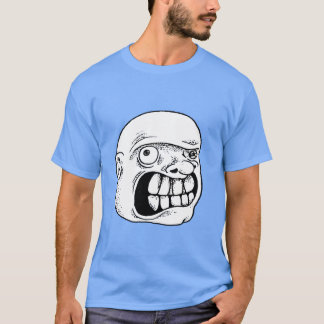 distorted awesome head with crazy teeth T-Shirt