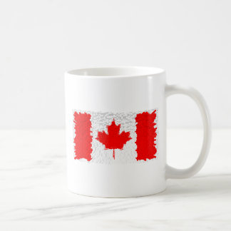 Distorted Canada Flag Coffee Mug