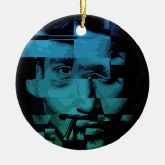 Distorted Ceramic Ornament