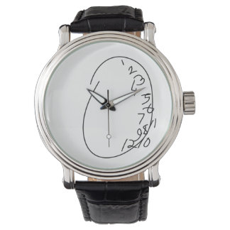 Distorted Clock Face - Will Graham Wristwatch
