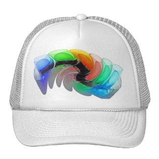 Distorted Cocktail Shot Glasses Trucker Hat