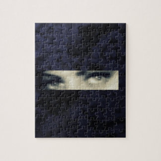 Distorted eyes puzzles