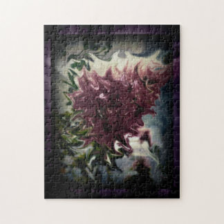 Distorted Flower Jigsaw Puzzle