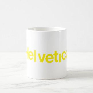 Distorted Helvetica Basic White Mug