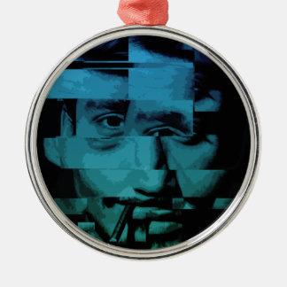 Distorted Metal Ornament