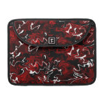 Distorted Red Graphic MacBook Pro Sleeve