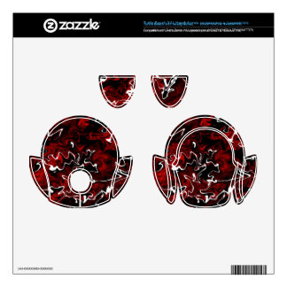 Distorted Red Graphic Turtle Beach X41 Skins