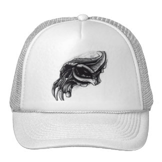 Distorted Skull Mesh Hats