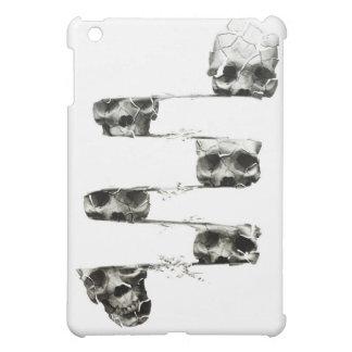 distorted skull iPad mini cover