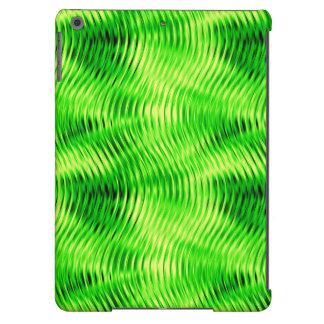 Distorted Waves, Neon-Ipad Air Case