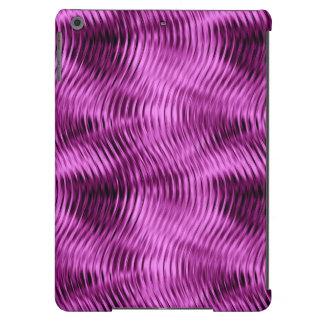 Distorted Waves, Purple-iPad Air Case