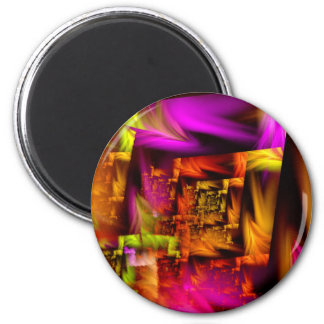 Distortion 2 Inch Round Magnet