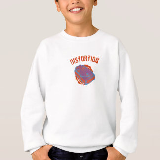Distortion Guitar Pedal Orange Sweatshirt