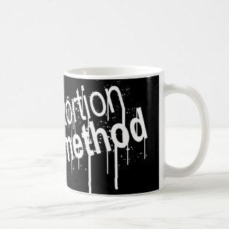 Distortion Method Logo Mug