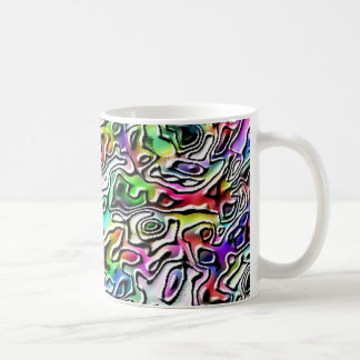 Distortion Classic White Coffee Mug