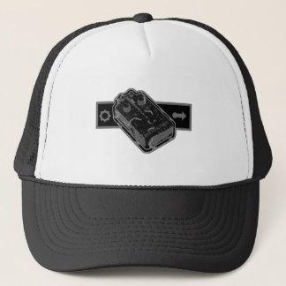 Distortion PEDAL - Black & Grey Distressed 2 Trucker Hat