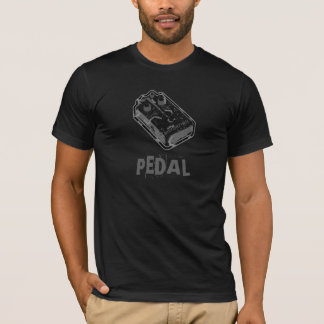 Distortion PEDAL - Black & Grey Distressed T-Shirt