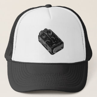 Distortion PEDAL - Black Grey Distressed Trucker Hat