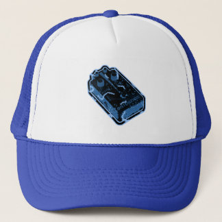 Distortion PEDAL - Blue Distressed Trucker Hat