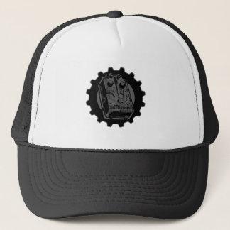 Distortion PEDAL Gear - Black & Grey Distressed Trucker Hat