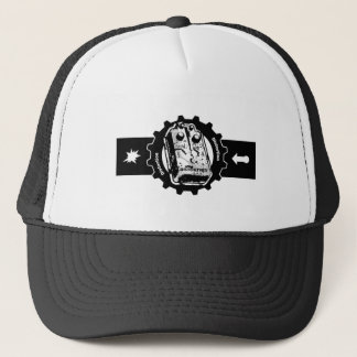 Distortion PEDAL Gear -black & White Trucker Hat