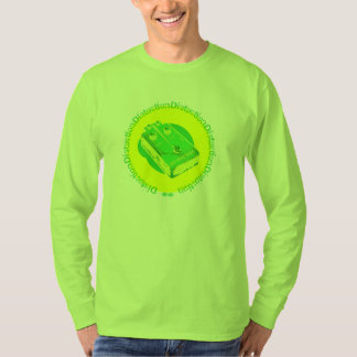 Distortion Pedal Green and Yellow T-Shirt
