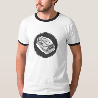 Distortion Pedal Grey & White T-Shirt