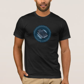 Distortion Pedal Two Tone Blue 2 T-Shirt