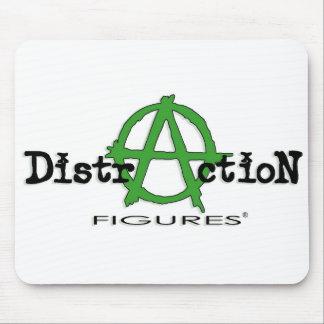 Distracción Figures® Mousepad Tapete De Raton