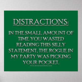Distracciones Poster