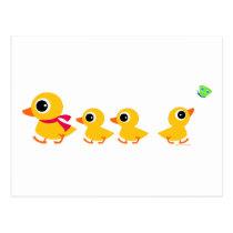 Distracted Duck Postcard