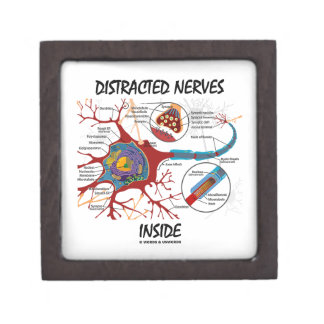 Distracted Nerves Inside (Synapse) Premium Jewelry Box
