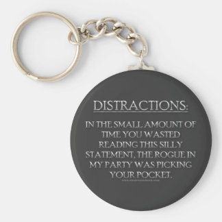 Distractions Keychains