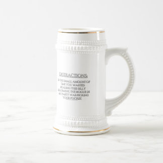 Distractions Coffee Mugs