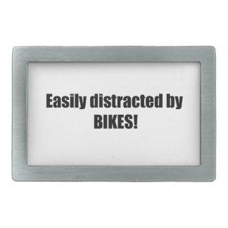 Distraído fácilmente por las bicis hebilla cinturon rectangular