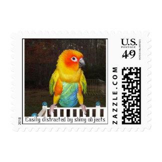 Distraído fácilmente… sellos postales