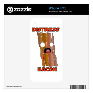 Distress Bacon Swag Skin For The iPhone 4S