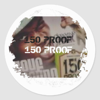 Distressed 2 Round Stickers - Customized